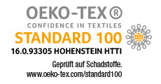 logo certification Standard 100 Oeko-Tex