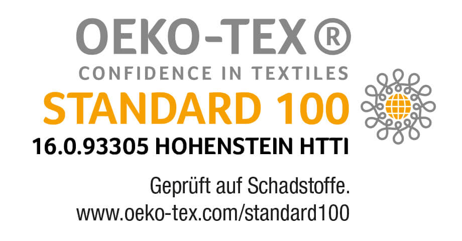 certification OEKO-TEX standard 100